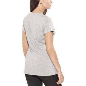 Bergans Bloom T-Shirt In Lana Donna, grigio